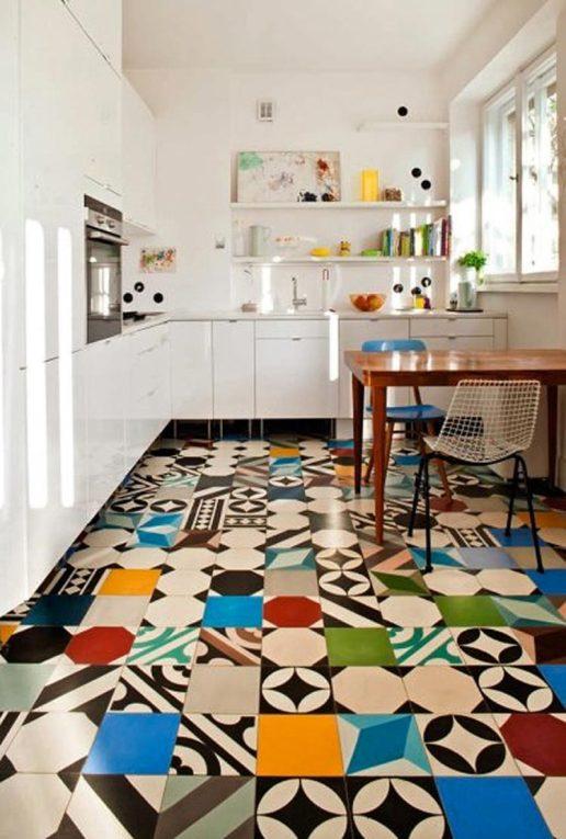 cozinha-chao-azulejo-estampado